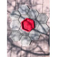 Hexagon ROCK FINISH