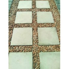 400x400x50mm SMOOTH stepping stone mould