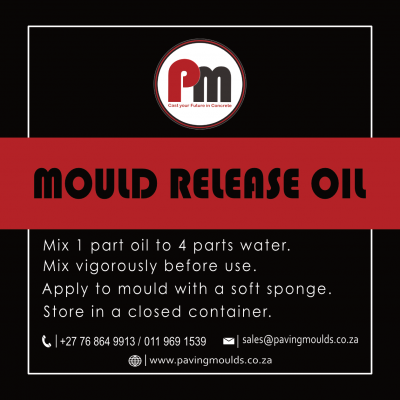 5 Litre Mould Release Oil